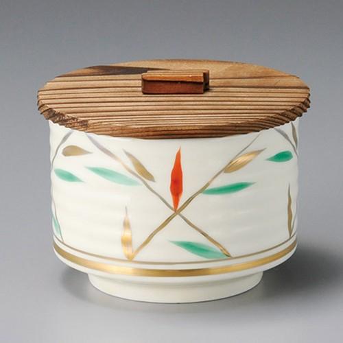 50622-460 焼杉(段付)丸形飯器蓋|業務用食器カタログ陶里30号