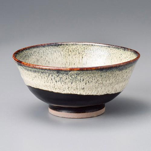 50824-150 うのふ天目ぬり分け茶漬碗|業務用食器カタログ陶里30号