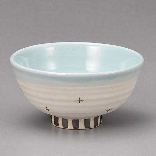 51414-280 春花飯碗(ブルー)|業務用食器カタログ陶里30号