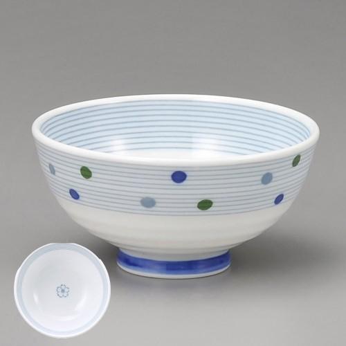 51415-330 スタ-ライン健康軽量茶碗青|業務用食器カタログ陶里30号