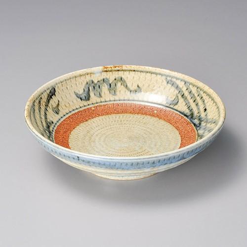 52012-250 信楽格子7.5麺皿|業務用食器カタログ陶里30号