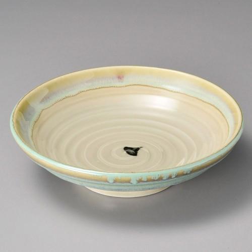 52013-250 ひすい流し7.0麺皿|業務用食器カタログ陶里30号