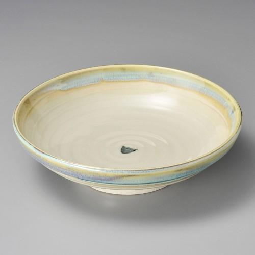 52014-250 ひすい流し7.5麺皿|業務用食器カタログ陶里30号