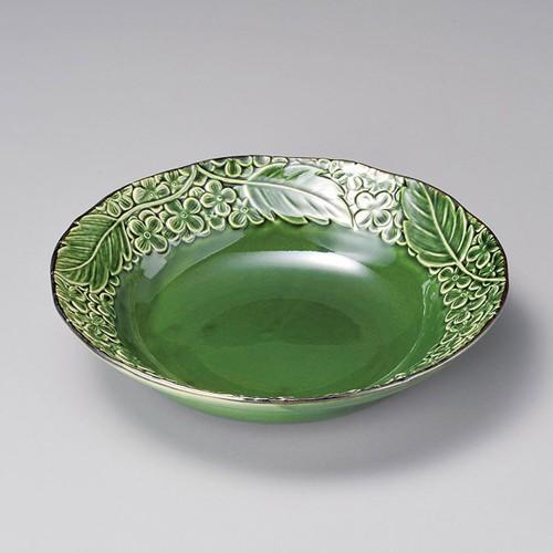 52017-400 グリーン花パスタ|業務用食器カタログ陶里30号