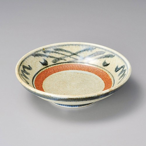 52104-250 信楽格子7.0麺皿|業務用食器カタログ陶里30号