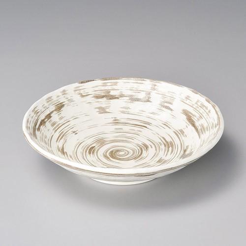 52105-250 刷毛渦白麺鉢|業務用食器カタログ陶里30号