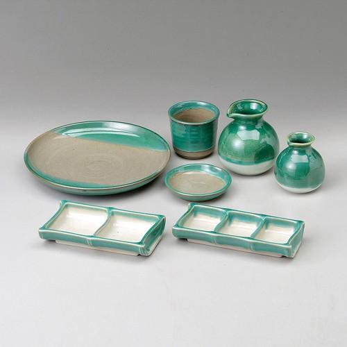 52420-220 翡翠三品皿|業務用食器カタログ陶里30号