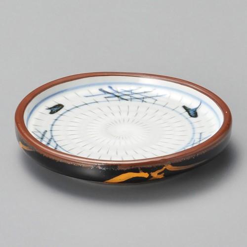 52902-180 天目金芦(土物)切立やくみ皿|業務用食器カタログ陶里30号