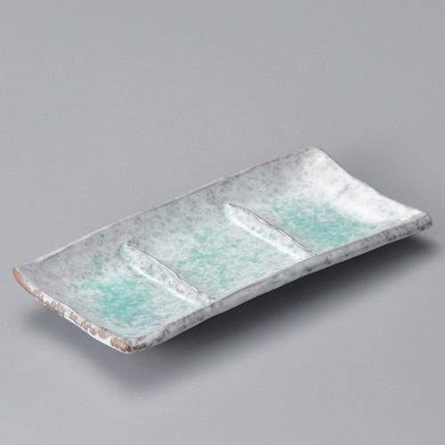 53011-350 青釉三品皿|業務用食器カタログ陶里30号
