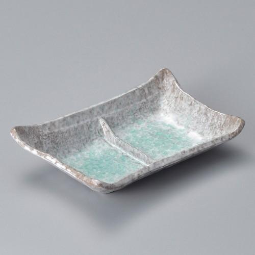 53012-350 青釉二品皿|業務用食器カタログ陶里30号