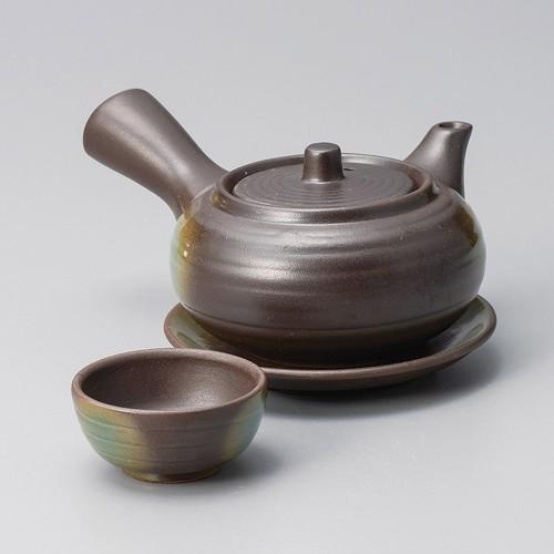 53418-480 黒吹き急須形土瓶むし|業務用食器カタログ陶里30号
