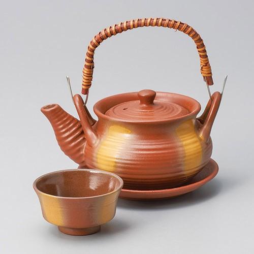53502-480 鉄赤吹き巾着土瓶むし|業務用食器カタログ陶里30号