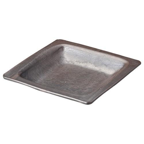 53803-430 黒釉9.5耐熱角プレート|業務用食器カタログ陶里30号