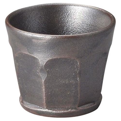 53817-430 黒釉2.8耐熱面取小鉢|業務用食器カタログ陶里30号