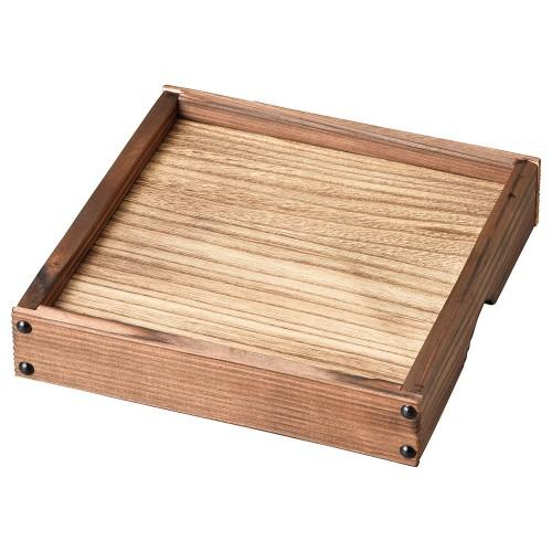 54026-350 銀峯花三島 焼杉高台板(大)|業務用食器カタログ陶里30号
