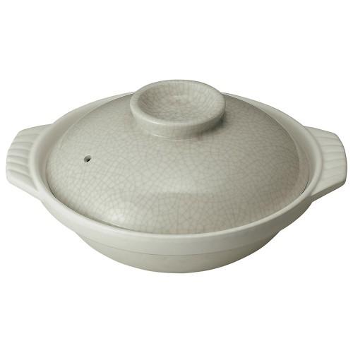 54131-350 銀峯墨貫入 10号鍋|業務用食器カタログ陶里30号