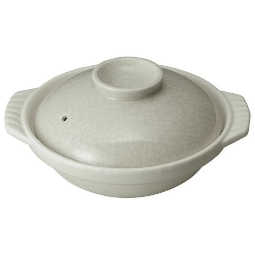 54132-350 銀峯墨貫入 9号鍋|業務用食器カタログ陶里30号