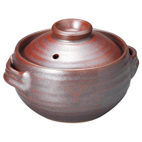 54422-480 鉄砂ごはん鍋(1合炊)|業務用食器カタログ陶里30号