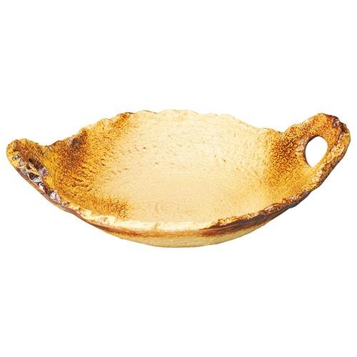 54615-480 イラホ6号変形陶板|業務用食器カタログ陶里30号
