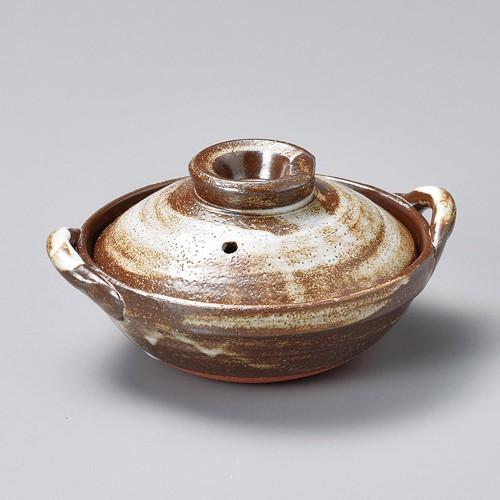 55017-350 京刷毛目5.0炊鍋|業務用食器カタログ陶里30号