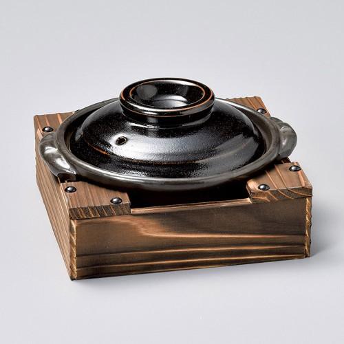 55020-350 5.0鍋用釜台底板付(小)|業務用食器カタログ陶里30号