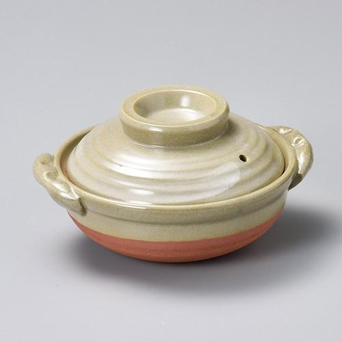 55022-350 京風刷毛目5.0深鍋|業務用食器カタログ陶里30号