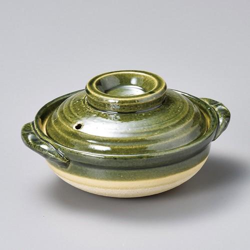 55025-480 織部5.5号鍋|業務用食器カタログ陶里30号