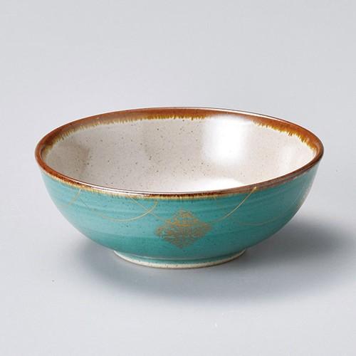 55028-480 グリーン金紋小鉢|業務用食器カタログ陶里30号