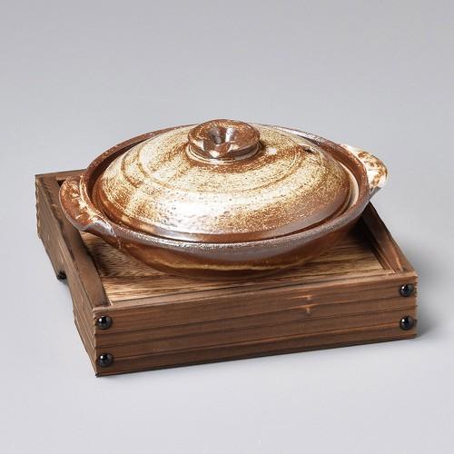 55106-350 柳川釜台(小)底板付|業務用食器カタログ陶里30号
