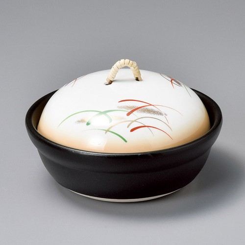 55115-080 加茂川会席鍋(蓋強化)|業務用食器カタログ陶里30号