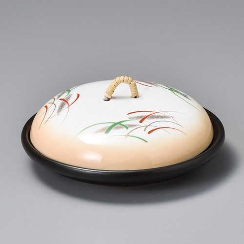 55116-080 加茂川5.5陶板(蓋強化)|業務用食器カタログ陶里30号
