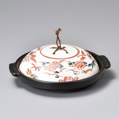 55119-220 手書き花鳥陶板|業務用食器カタログ陶里30号