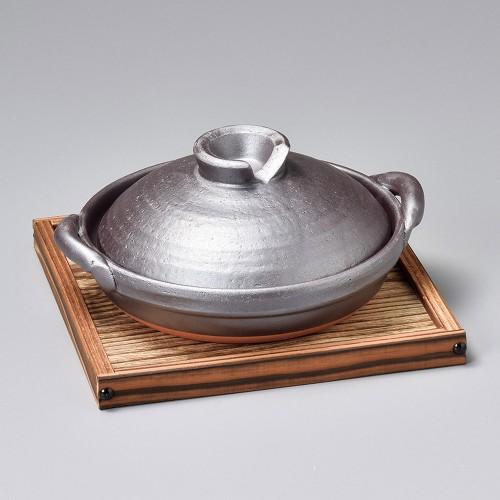 55121-350 鉄釉6.0柳川陶板|業務用食器カタログ陶里30号