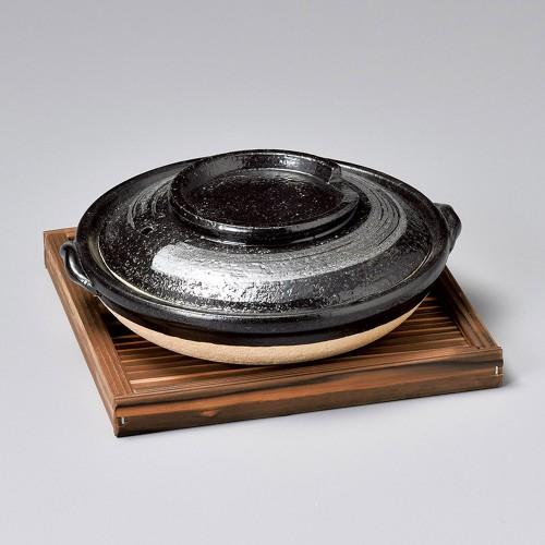 55128-430 天目刷毛目柳川鍋|業務用食器カタログ陶里30号