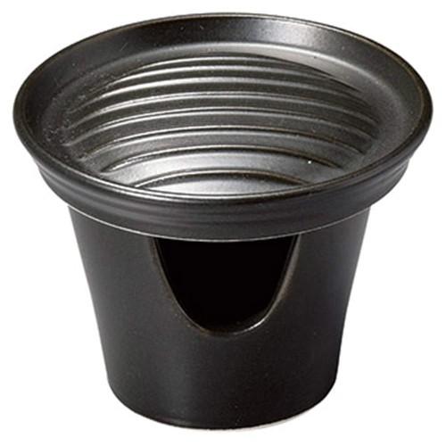 55322-160 耐熱黒陶板11cm|業務用食器カタログ陶里30号