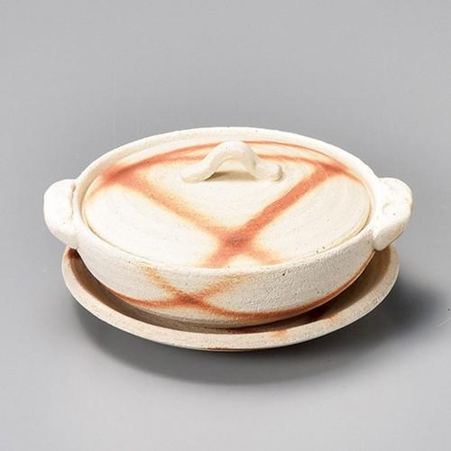 55403-460 焼締火だすき 3.5土鍋 業務用食器カタログ陶里30号