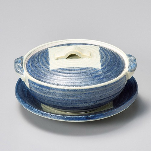 55407-460 荒土ごす巻4.5丸皿 業務用食器カタログ陶里30号