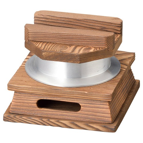 55802-330 釜めしセット焼杉台(小)約0.5合(M10-222) 業務用食器カタログ陶里30号