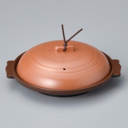 55811-330 丸陶板(浅)16浅皿アカネ 業務用食器カタログ陶里30号