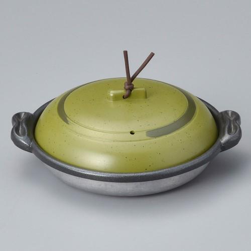 55817-330 庵陶板(深)16深皿うぐいす 業務用食器カタログ陶里30号