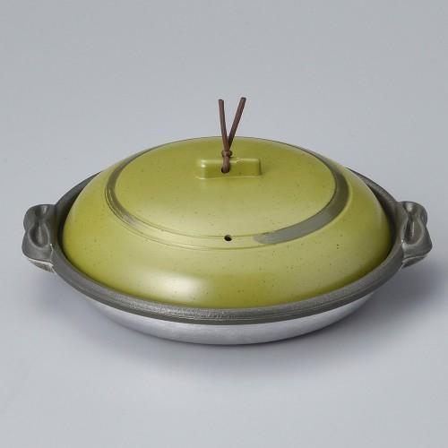 55818-330 庵陶板(深)18深皿うぐいす 業務用食器カタログ陶里30号