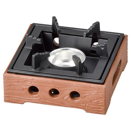 55907-330 PP製民芸コンロB-1茶(M11-503)火入れ付|業務用食器カタログ陶里30号