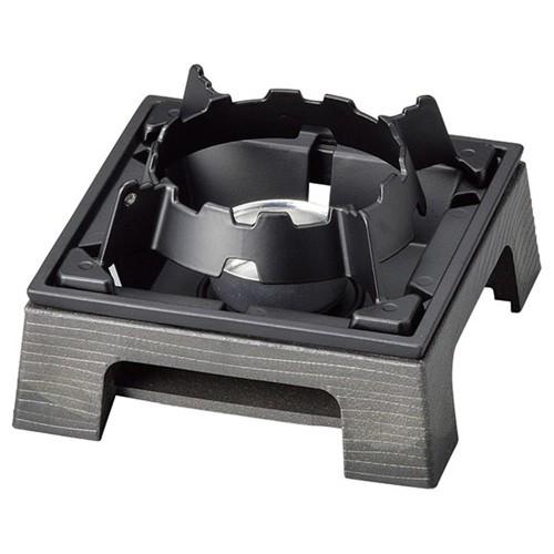 55908-330 PP製民芸コンロA-3黒(M44-627)火入れ付|業務用食器カタログ陶里30号
