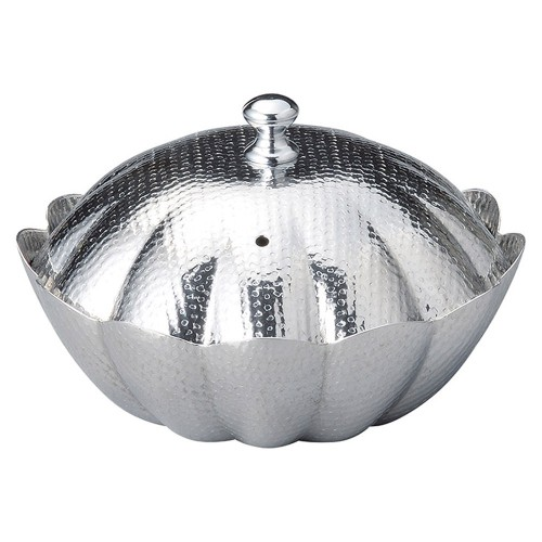 56005-330 しぐれ鍋 小菊 蓋付(M11-040)|業務用食器カタログ陶里30号
