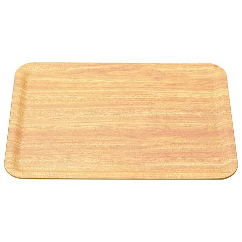 56106-330 ユニバーサルトレーノンスリップ 薄木目大(M44-390)|業務用食器カタログ陶里30号