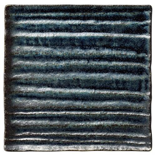 56217-830 和流 15cmスクエアプレート(藍潤)|業務用食器カタログ陶里30号