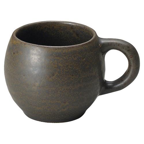 56406-250 くつろぎ 鉄黒 たるマグ|業務用食器カタログ陶里30号