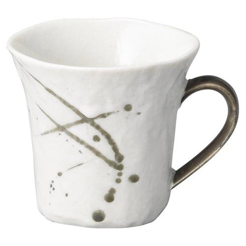 58406-300 筆流し白 白反コーヒー碗|業務用食器カタログ陶里30号
