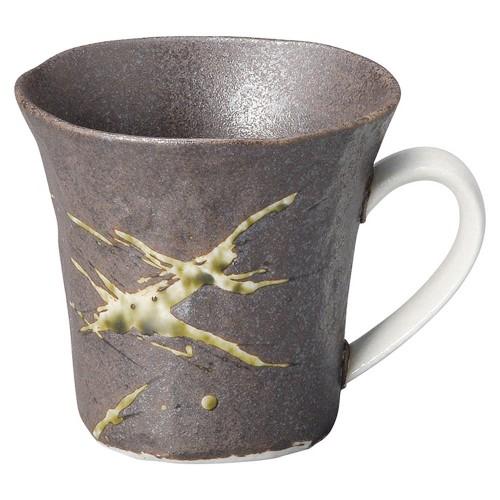 58506-300 筆流し黒 黒反コーヒー碗|業務用食器カタログ陶里30号