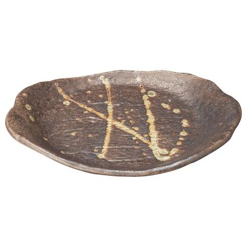 58522-300 筆流し黒 黒一服皿|業務用食器カタログ陶里30号